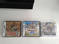 Selling DS and 3DS games $25 each