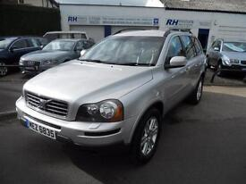 VOLVO XC90 2.4 D5 SE AWD AUTOMATIC 2007 182BHP 7SEATER TOWBAR BLACK LEATHER