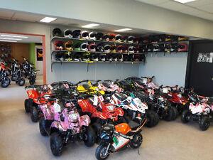 New Kid's Dirt Bike 250-Watt on Super Sale Now at ATV Edmonton Edmonton Edmonton Area image 4