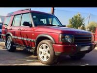 LAND ROVER DISCOVERY TD5 ES 7 Seat Auto 4WD Red Auto Diesel, 2003