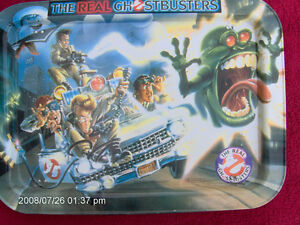 GHOSTBUSTERS CHILD's T.V. TRAY * CIRCA 1984 * RARE * pst. # 59