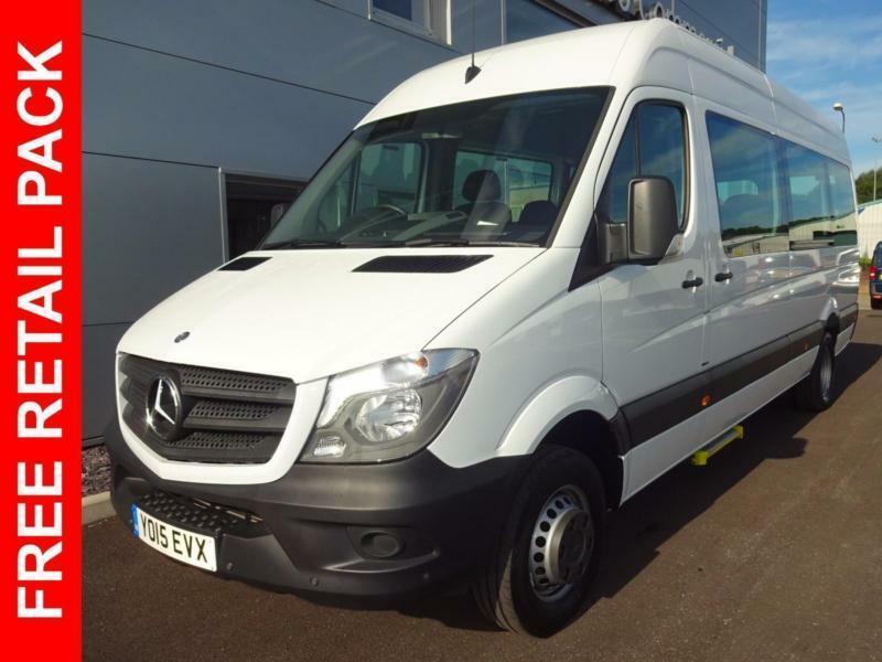 2015 mercedes benz sprinter 513 bluetec tl17 bus diesel white manual in cardiff gumtree. Black Bedroom Furniture Sets. Home Design Ideas
