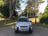 2006 Land Rover Freelander 2.0 Td4 Auto Adventurer 5 Door Hatchback Silver