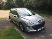 PEUGEOT 308 S HDI 2010 ESTATE 105k YEAR MOT DRIVES LOVELY