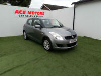 2012 61 SUZUKI SWIFT 1.2 SZ3 5 DOOR,ONLY 48000 MILES WITH FULL SERVICE HISTORY