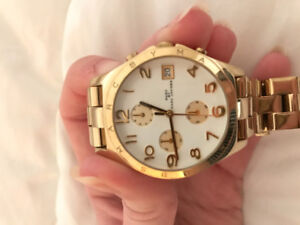 GOLD MARC JACOBS WATCH FOR SALE