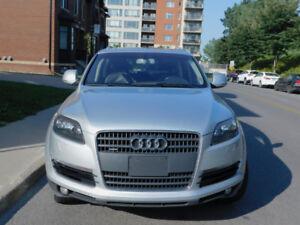 2008 Audi Q7 S-Line Premium 3.6L Quattro (Silver/Gris)