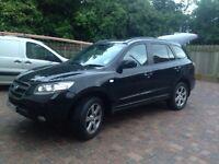 Hyundai Santa Fe '09 CRDi 7 Seater (leather) 63k Black on Black, 1 Owner, Climate/Cruise Control etc