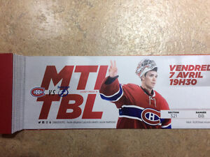 Montreal Canadiens vs Tampa Bay Lightning 321BB Whites
