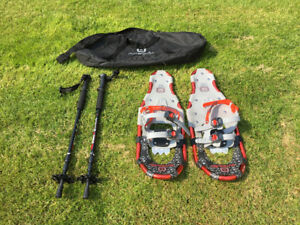 Outbound Snowshoes + Poles and Carrying Case