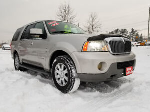 LINCOLN NAVIGATOR 4X4 SUV ** CERTIFIED ** $6995 ** 100% APPROVED