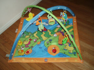 Play Mat with Toys / Baby Rocker / Carrier Seat / Change Pad