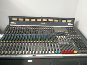 Console de son analogique Soundcraft