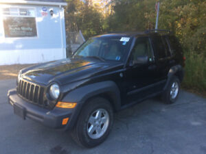 2006 Jeep Liberty 4x4 SUV