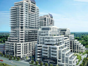 Richmond Hill 1 Bedroom + Den Condo  with parking