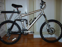 Trek mens  bike used for road as well as mountain bike/bmx