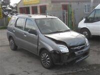 SUZUKI IGNIS 1.3 2006 5 DOOR DRIVERS DOOR IN GALACTIC GREY*breaking for spares**