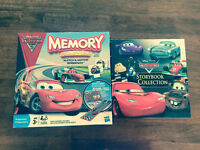 Cars Memory Game and Storybook Collection