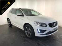 2015 VOLVO XC60 R-DESIGN D4 AUTOMATIC DIESEL 190 BHP FINANCE PX WELCOME