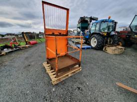 Forklift man basket safety cage tractor telehandler