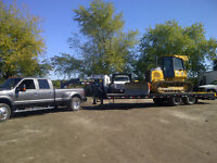 TRANSPORTATION OF EQUIPMENT & TRAILER MOVING AND SET UP
