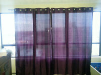 3 Sets of Curtains