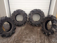 30 X 9.00 x 14 Silverback Mud Tires / Take Off's from new unit!