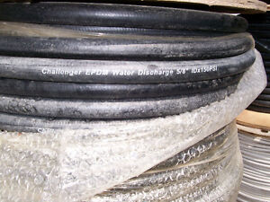 "NEW ROLL 500'  5/8"" EPDM INDUSTRIAL HOSE 150PSI"
