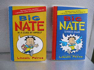BIG NATE ( $ 6.00 EACH. 2 FOR $ 10.00 )