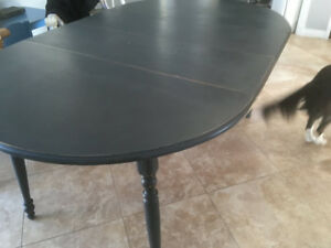 Charcoal Shabby Chic Table