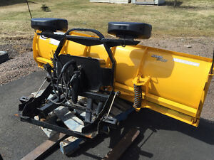 7.5 feet fisher snow plow used only 1 winter**LIKE NEW**