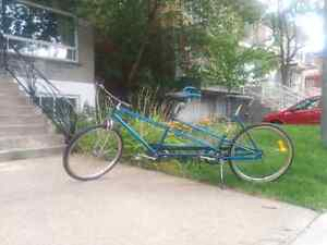 Vélo tandem Vintage CCM