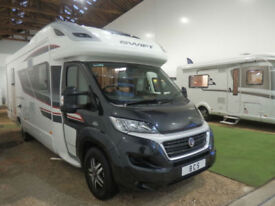 SWIFT KONTIKI 625 BLACK EDITION / LOW LINE / GARAGE / ISLAND BED / 4 BERTH /