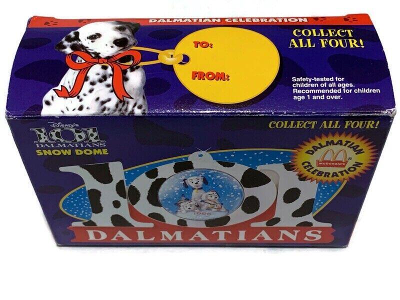 Disney 101 Dalmatians Snow Dome Ornaments McDonald