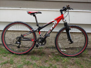 "Great Cond. 26"" 24 Spd FUJI Nevada Aluminum FrontSuspension Bike"