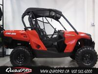 2014 Can-Am BOMBARDIER CAN-AM COMMANDER 800 53,78$/SEMAINE