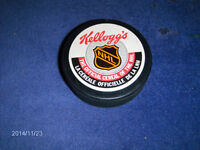 75TH ANNIVERSARY OF NHL-KELLOGG'S OFFICIAL CEREAL HOCKEY PUCK