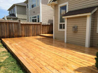 We build decks