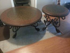 Table de salon et de bout, 400$