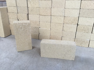 High Temp Medium Duty Firebrick for Fireplace or Pizza Oven