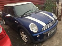 MINI COOPER 1.6 AUTOMATIC SPARES OR REPAIRS EASY FIX MOT