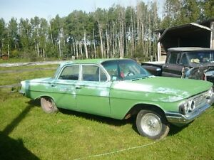 1961 CHEVY BISCAYNE ROLLING CHASSIS