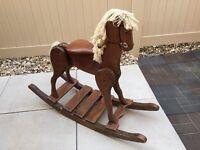 Kids Wood Rocking Horse