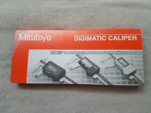 """Mitutoyo 8"""" digital calipers"""