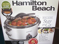 Slow Cooker: Deluxe Hamilton & Beach