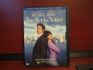 Two Weeks Notice. dvd