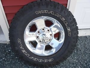 Ram 2500 tire and rim package
