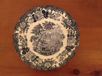 "Royal Worcester Palissy ""Avon Scenes 1790"" Decorative Plate"