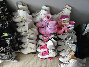 30 Different sized Girls - Boys & Youth Skates All Sizes London Ontario image 2