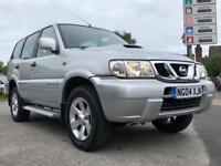 2004 NISSAN TERRANO SE TD * 12 MONTHS MOT + 2 PREVIOUS OWNERS *